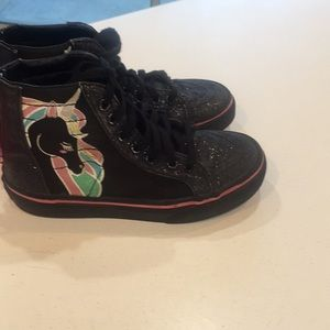 Vans Shoes - Unicorn vans girls size 13